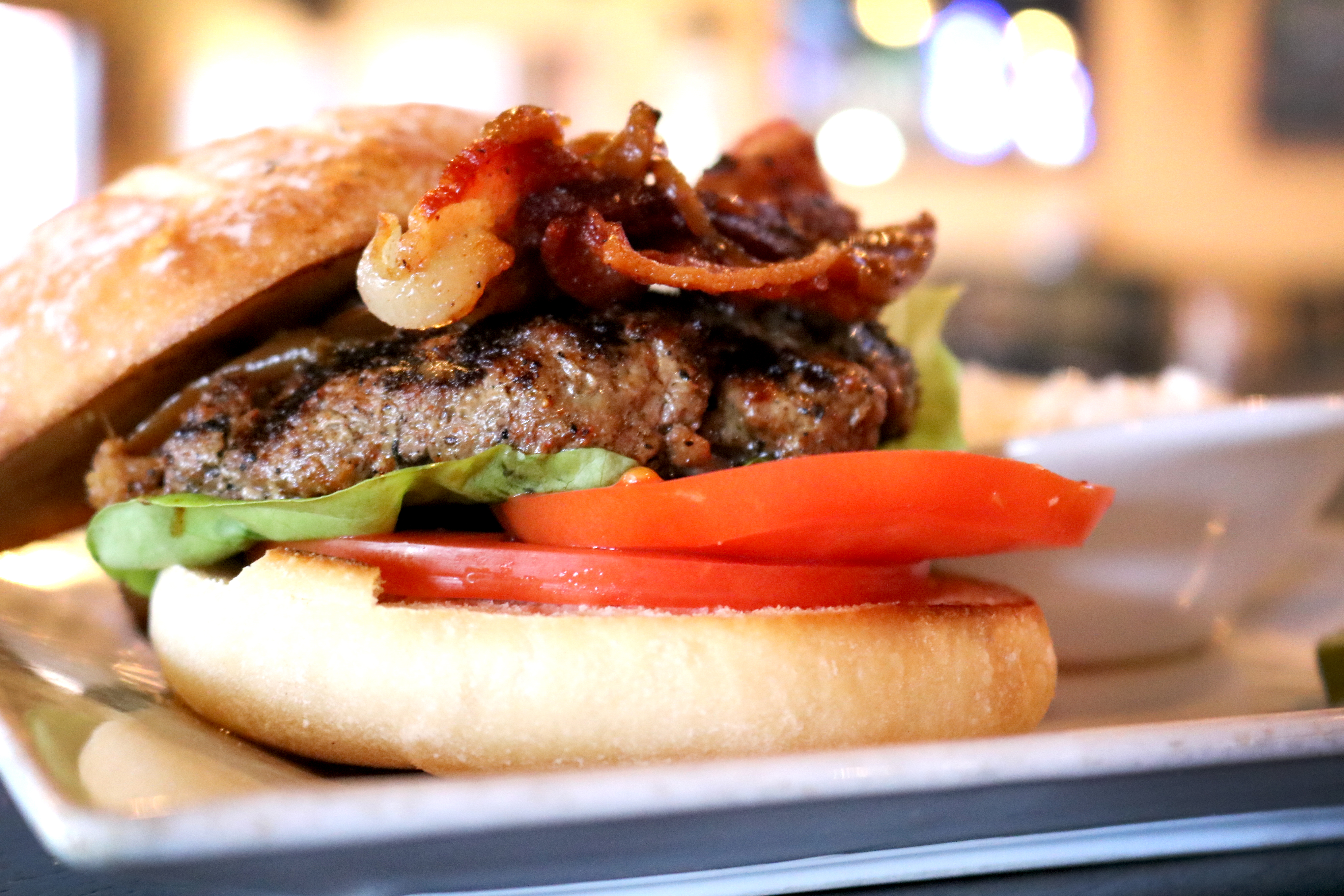 Enjoy one of our premium burgers with handmade 7oz. patties!
