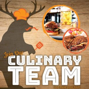 Join our Culinary Team