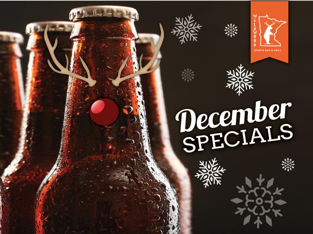 December Specials at Wildwood