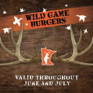 Wild Game Burgers