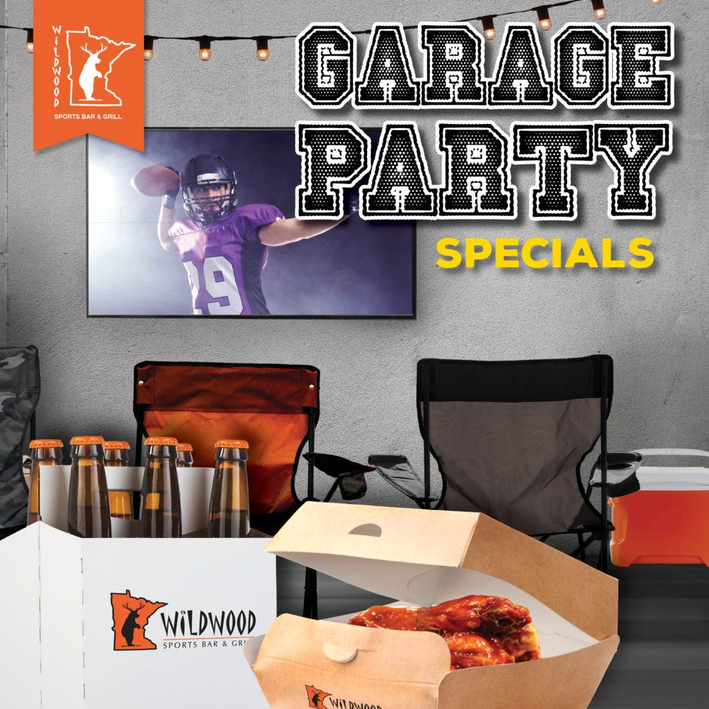Garage Party Specials